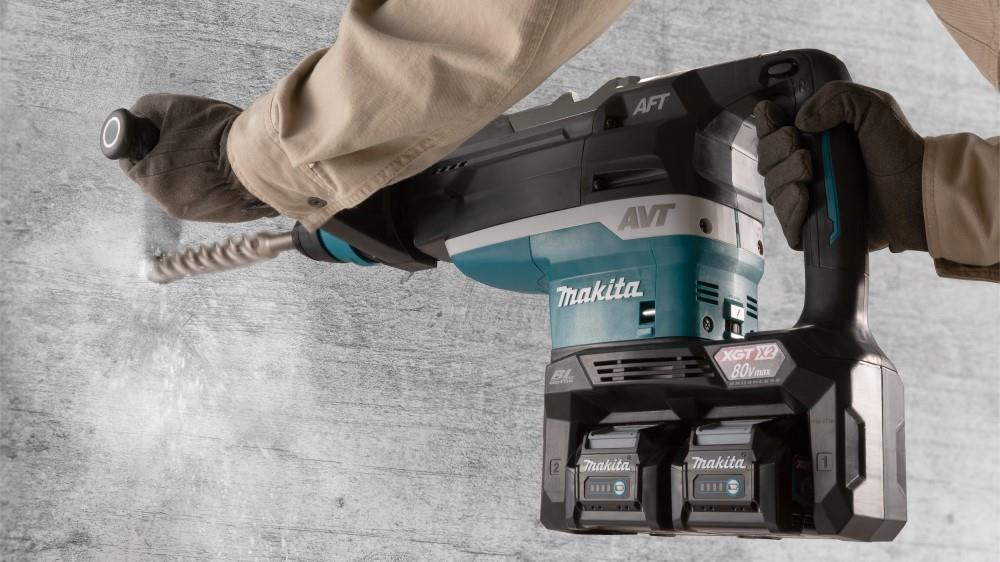 Makita launches 80V demolition hammers image