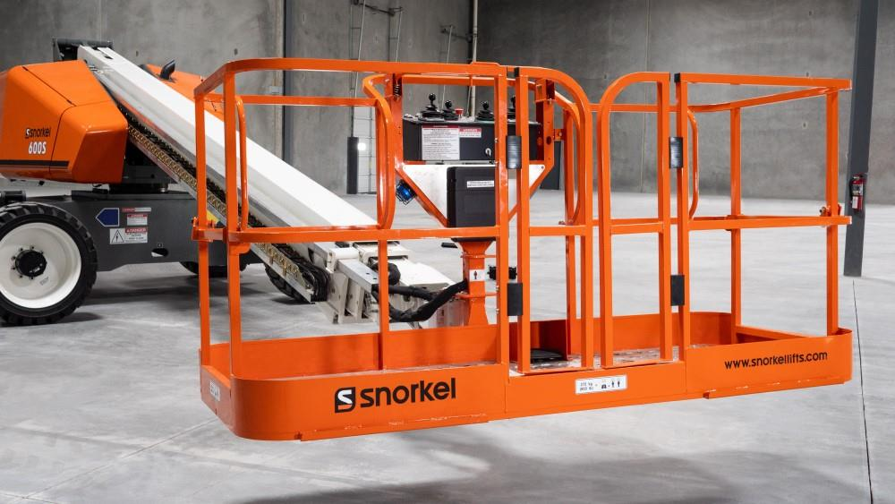 Upgraded Snorkel  boom enters production image