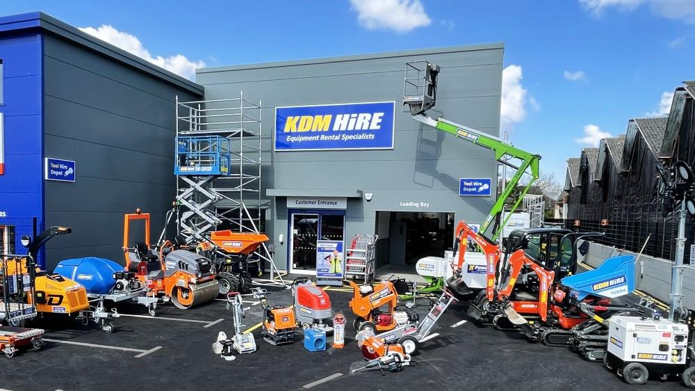 KDM Hire opens new depot image